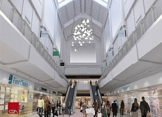 Picture of County Mall Crawley