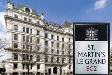 Picture of St Martins Le Grand London